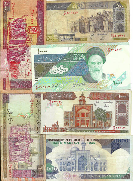 Photograph - Old Foreign Currency by Steve Estvanik