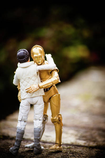 C3po Photograph - Old Friend by Jedi Journal
