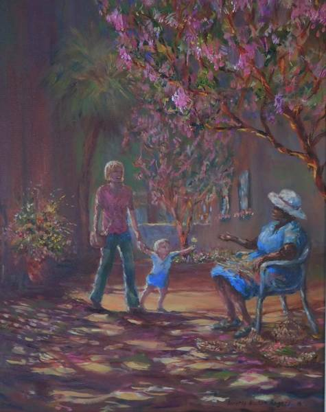 Painting - Old Friends by Dorothy Allston Rogers