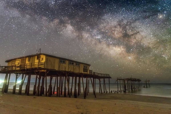 Photograph - Old Frisco Pier by Russell Pugh