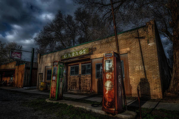 Photograph - Old Garage by Michael Ash