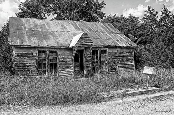 Photograph - Old Gas Shop by Wesley Nesbitt