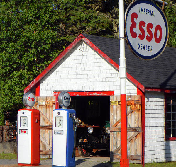 Photograph - Old Gasoline Station by Doc Braham