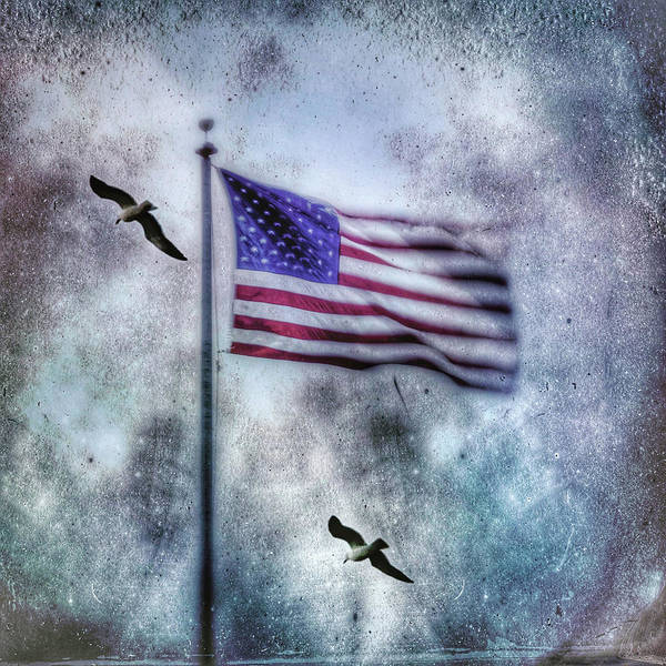 Photograph - Old Glory by John Rodrigues