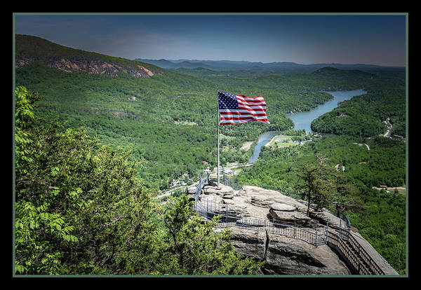 Photograph - Old Glory Stands Tall by Chris Coffee