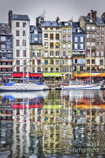 Wall Art - Photograph - Old Harbor Of Honfleur by Delphimages Photo Creations