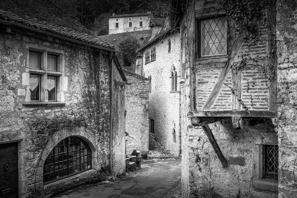 Photograph - Old Houses Of Saint Cirq Lapopie by Georgia Fowler