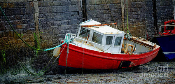 Wall Art - Photograph - Old Irish Fishing Boat by Olivier Le Queinec