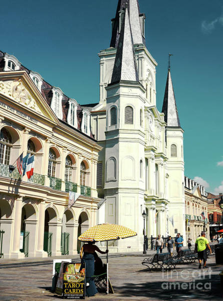 Photograph - Old Jackson Square In New Orleans by John Rizzuto