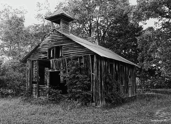 Photograph - Old Jaybird Schoolhouse by Wesley Nesbitt