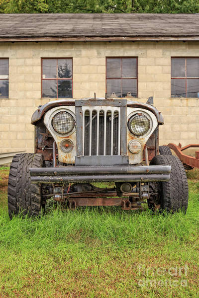 Photograph - Old Jeep 4x4 by Edward Fielding