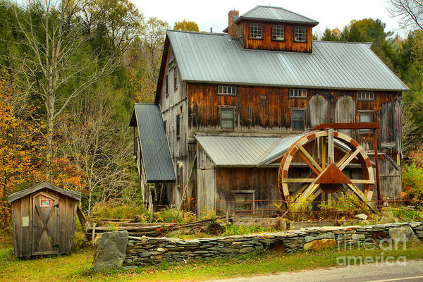 Photograph - Old Jeffersonville Mill by Adam Jewell