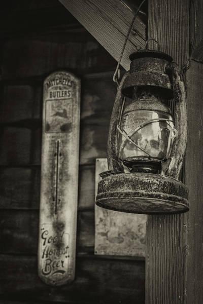 Wall Art - Photograph - Old Kerosene Lantern by Mike Burgquist