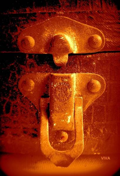 Photograph - Old Latch 2 by VIVA Anderson