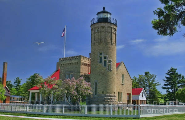 Wall Art - Photograph - Old Mackinac Point Lighthouse by Joan Bertucci