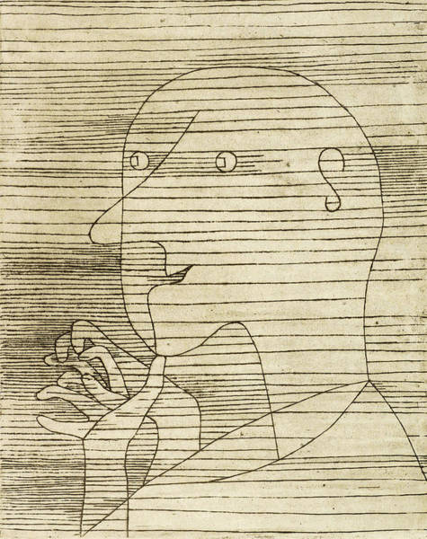 Wall Art - Painting - Old Man Calculating, 1929 by Paul Klee