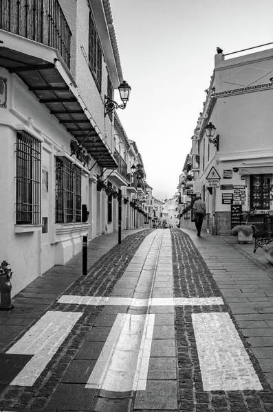 Photograph - Old Man Walking by Borja Robles