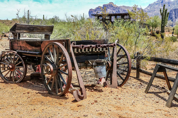 Photograph - Old Mining Days 2 by Dawn Richards