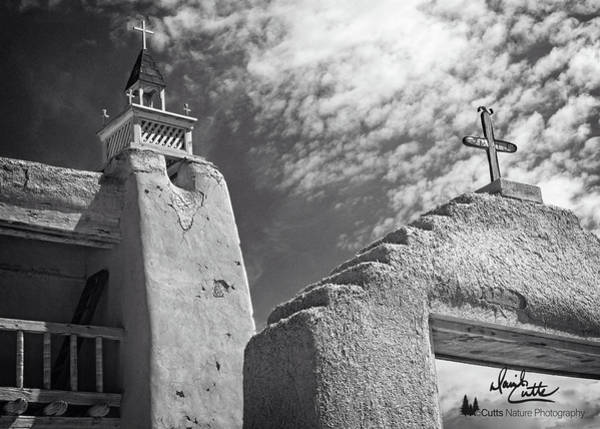 Photograph - Old Mission Crosses by David Cutts