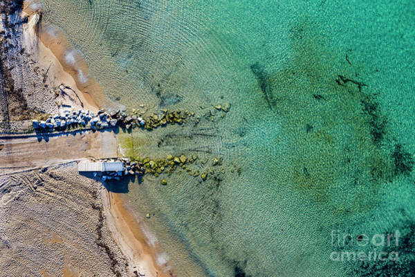 Wall Art - Photograph - Old Mission Launch Aerial by Twenty Two North Photography