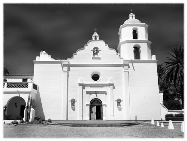 Spanish Mission Photograph - Old Mission San Luis Rey De Francia by Glenn McCarthy Art and Photography