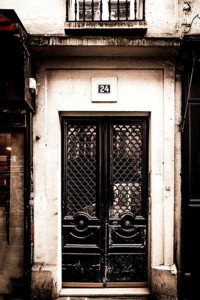 Wall Art - Photograph - Old Montmartre Door by Georgia Fowler