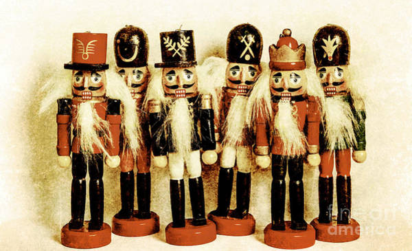 Figurine Wall Art - Photograph - Old Nutcracker Brigade by Jorgo Photography - Wall Art Gallery