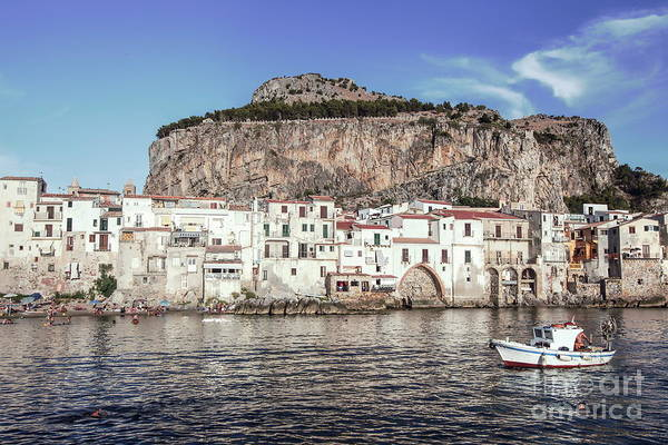 Wall Art - Photograph - Old Town Of Cefalu - Sicily by Stefano Senise