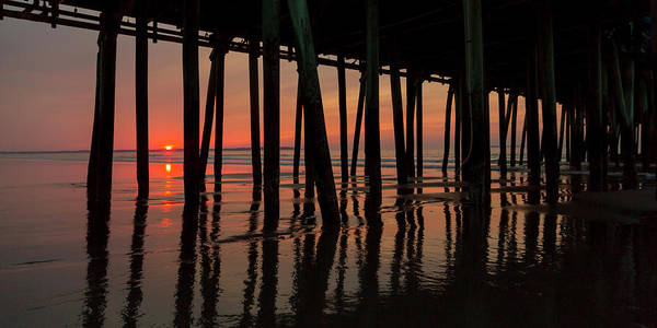 Wall Art - Photograph - Old Orchard Beach Fishing Pier Welcome To The Day by Betsy Knapp
