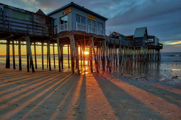 Photograph - Old Orchard Beach by Juergen Roth