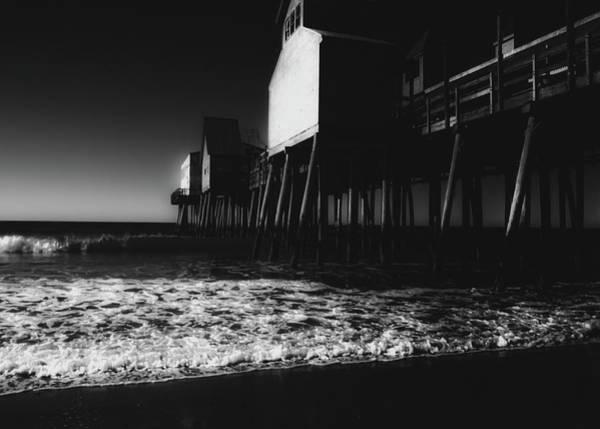 Photograph - Old Orchard Beach Noir by Bob Orsillo