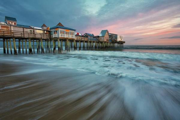 Orchard Beach Photograph - Old Orchard Beach Pier by Photo By Don Seymour