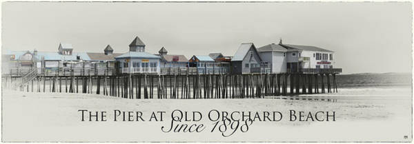 Photograph - Old Orchard Pier by John Meader