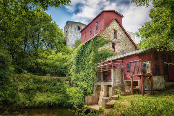 Millrace Wall Art - Photograph - Old Oxford Mill by James Barber
