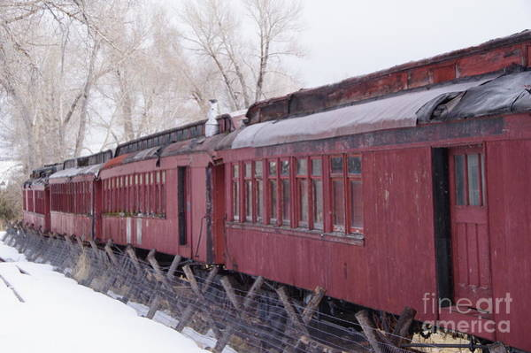 Wall Art - Photograph - Old Passenger Cars by Jeff Swan