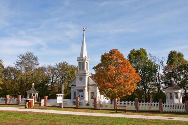Photograph - Old Peace Chapel by Steve Stuller