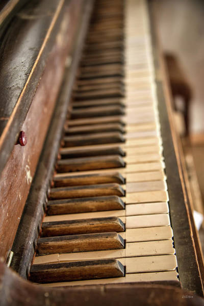 Photograph - Old Piano by Leland D Howard