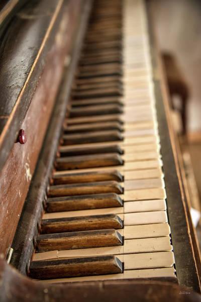 Wall Art - Photograph - Old Piano by Leland D Howard