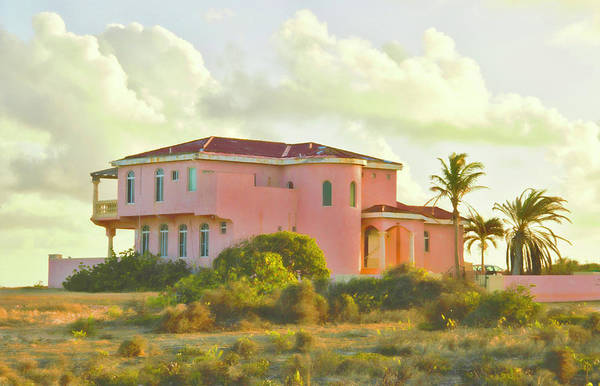 Photograph - Old Pink Villa In The Tropics by Ola Allen