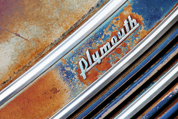 Wall Art - Photograph - Old Plymouth Logo by Todd Klassy