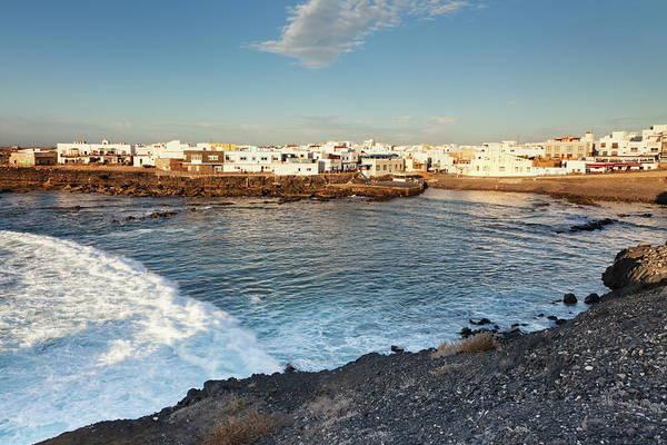 High Tide Photograph - Old Port, El Cotillo, Fuerteventura by Markus Lange / Robertharding