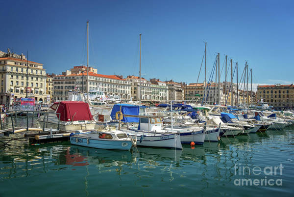 Wall Art - Photograph - Old Port Of Marseille by Delphimages Photo Creations