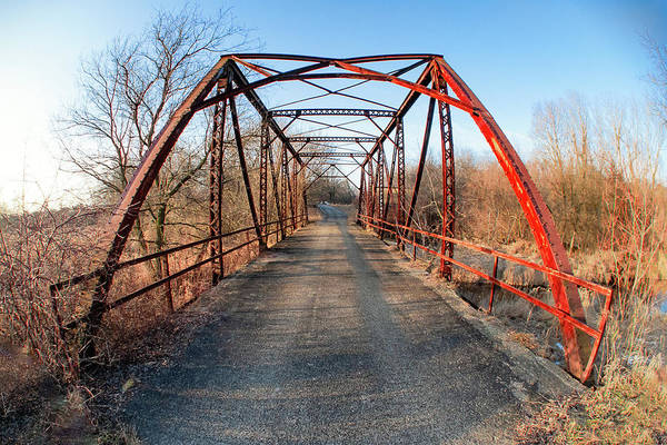Wall Art - Photograph - Old Pratt Road Bridge by Todd Klassy