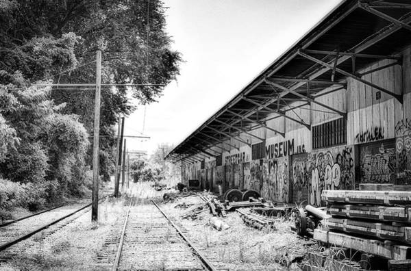 Wall Art - Photograph - Old Rail Remains by Doug Swanson