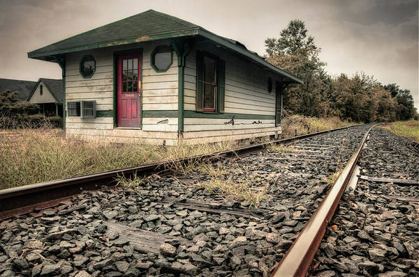Lewes Photograph - Old Railroad Station by Diana Kehoe Photography