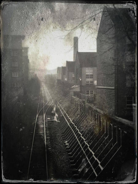 Photograph - Old Railway Line by Dave Bowman