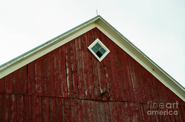 Photograph - Old Red Barn by Ana V Ramirez