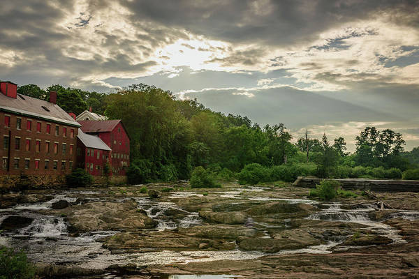 Backwoods Wall Art - Photograph - Old Red Building On The River by Mike Whalen