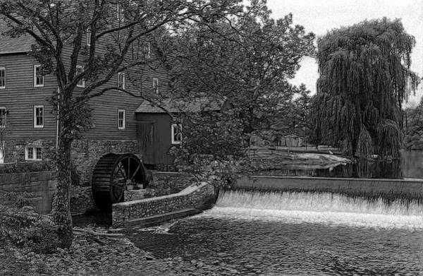 Wall Art - Photograph - Old Red Mill by Mike Flynn