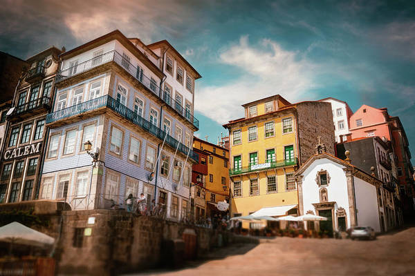 Wall Art - Photograph - Old Ribeira Porto Portugal  by Carol Japp